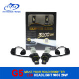 Lampadina 2016 dei nuovi prodotti LED 20W 2600lm 9006, faro automatico del LED, lampadine del faro del LED