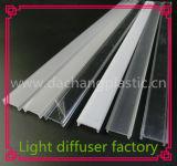 알루미늄 LED 단면도를 위한 아크릴 가벼운 유포자 덮개