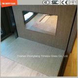 vidro reflexivo da segurança de 4-19mm para o dispositivo elétrico, porta, chuveiro, arquitetura, parede de cortina de vidro, vidro de construção