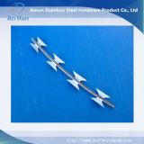 ステンレス鋼の有刺鉄線の工場