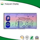 Écran LCD d'appareil ménager d'affichage à cristaux liquides de segment de Tn