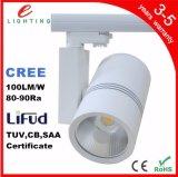 LEIDENE van Dimmable van de MAÏSKOLF van het aluminium de Warme Witte Zuivere Witte Verlichting van het Spoor