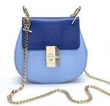 Le donne fregano il sacchetto di spalla, borsa del progettista del sacchetto di cuoio dell'unità di elaborazione (LDO-01689)