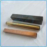 Tubi rettangolari saldati dell'acciaio inossidabile per i corrimani
