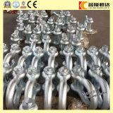 Schmiedete elektrisches galvanisiertes Stahlbolzenartigabsinken G2150 d-Fessel