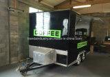 Rimorchio della via di formato/carrello mobili Van dell'alimento