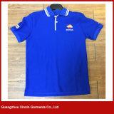 Camisas baratas do polo T da venda por atacado do volume do preço da melhor qualidade (P146)