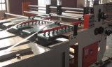 Maquinaria de la impresión y el ranurar del rectángulo de papel