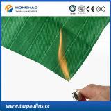 Tela à prova de fogo e impermeável da fibra de vidro da listra da fábrica da alta qualidade