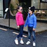 Новые дети одевая спорты Jacke 603 мальчиков и девушок куртки детей вниз