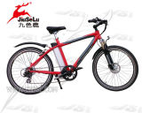 """Bicyclette électrique de montagne rouge sans frottoir du moteur 250W de la CE 26 """" (JSL037B)"""