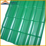 Плитка толя PVC 2 слоев/3 слоев, плитка крыши PVC пластичная, пластичная плитка крыши