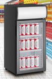 Réfrigérateur de refroidisseur d'étalage de dessus de Tableau contre- premier mini avec du ce, CB