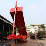 Aanhangwagen van de Stortplaats van de Levering van de container Flatbed