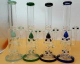 De nieuwste Rokende Waterpijp van het Glas van het Ontwerp met het Roteren Perc