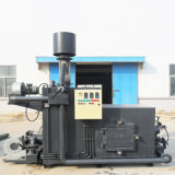 Basura urbana o incinerador municipal de la basura sólida sin la contaminación secundaria