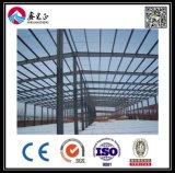 Almacén ligero prefabricado de la estructura de acero del bajo costo