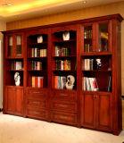 Bookcase di legno con Separate Style Bookcase Bk-06