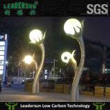 Indicatore luminoso esterno dell'interno della sfera del PE di illuminazione LED della decorazione (LDX-B01)