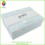 Foldable Lid 및 Base Paper Storage Packaging Box