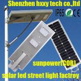 屋外の庭のための1つの太陽LEDのステンレス鋼太陽ライトのすべて
