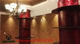 Chalet prefabricado de dos pisos de la estructura de acero de la luz de las casas de Certifiacted del Ce