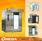 El pan que hace la línea de producción utilizados El alto rendimiento del cambiador de calor eléctrica / gas / Disel Rotary Horno