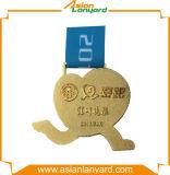 Kundenspezifische heiße Verkaufs-Metallmedaille mit unterschiedlichem Überzug