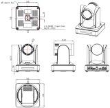 Cámara óptica caliente de la cámara 5X 1080P60 USB3.0 PTZ de la videoconferencia del USB de HD