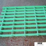Rejas de la extrusión por estirado hechas por la instalación de los materiales de FRP en canales