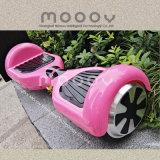 Vespa eléctrica elegante de la tarjeta de la libración de 2 ruedas del color rosado para las muchachas