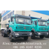 Traktor-LKW des Beiben Traktor-Kopf-6X4 10 des Rad-380HP 420HP für Verkauf