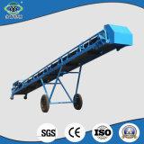 Équipement de livraison de matériel mobile durable Convoyeur de ceinture en caoutchouc