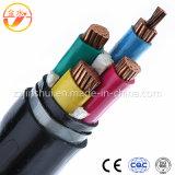 cabo flexível aéreo elétrico do ABC XLPE do PVC 3*1/0AWG