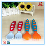 La cuchara plástica BPA determinado del niño del nuevo diseño libera