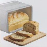 Estanho do pão da caixa do pão do metal com a estaca larga