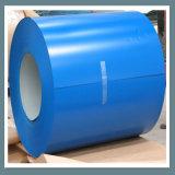 le matériau de construction de feuille de toiture en métal d'acier de 0.45*1000mm a enduit la bobine d'une première couche de peinture en acier