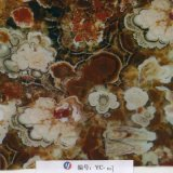 Yingcai 1mの幅の石パターンコケむしたカシ水転送のフィルム