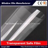 прозрачная пленка безопасности стекла окна 2mil/4mil/8mil защитная