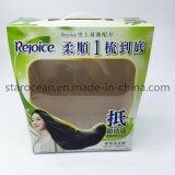 Plástico personalizada película transparente de PVC para champú Box