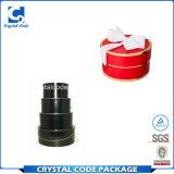 Rectángulo de regalo redondo del cilindro de la impresión excelente de la calidad