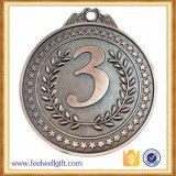 ランナーが付いているカスタム上販売法のスポーツメダル