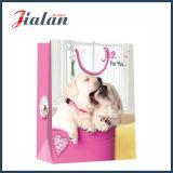 Papel recubierto Rose & Dog Día de San Valentín Bolsa de papel de regalo