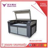 arriba y abajo del corte del laser del vector y de la máquina de grabado