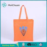 Kundenspezifische Firmenzeichen-nicht gesponnene Silk Druckentote-Einkaufstasche