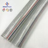 Boyau d'aspiration de fil d'acier de PVC d'espace libre de qualité supérieur