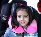 """Almohadilla en forma de """"U"""" del cuello con la espuma de la memoria para Kidstravelling"""
