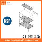 Fach-Gerät der Grundlagen-5-Shelf auf Rädern - Puder-Beschichtung