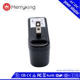 Niveau VI 12V 1A FCC van UL keurde ons goed de Adapter van de Wisselstroom van de Muur van de Stop USB