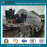 Горячий сбывания ви-образност 45m3 навальный цемента топливозаправщика трейлер Semi